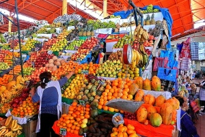 Diversité des fruits et légumes au Pérou