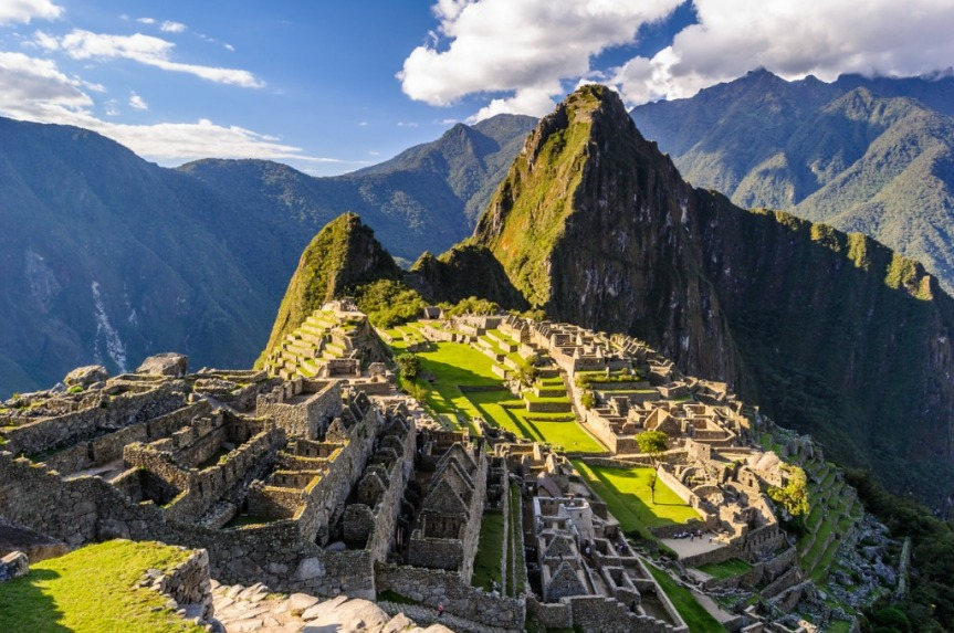 Machu Picchu, merveille du monde, Région de Cuzco.