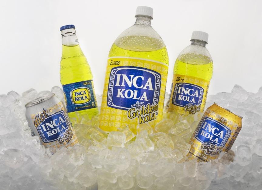 Inca Kola, le soda 100% péruvien.
