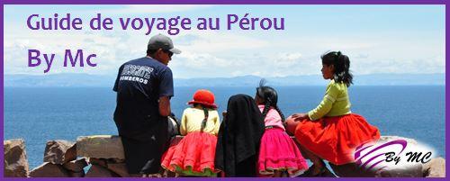 Guide de voyage au Pérou By Mc est une agence de voyage locale spécialiste du Pérou, basée à Cusco.