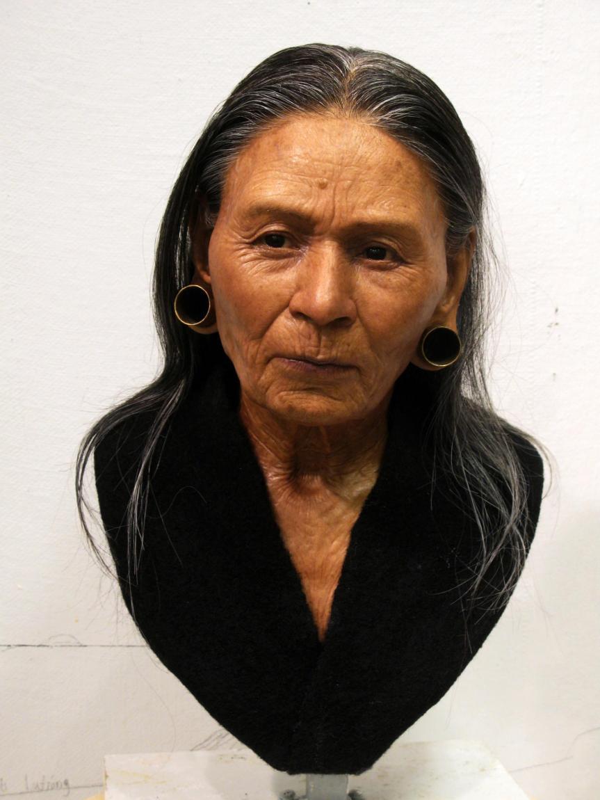 Le visage d'une reine huari reconstitué 1200 ans après samort