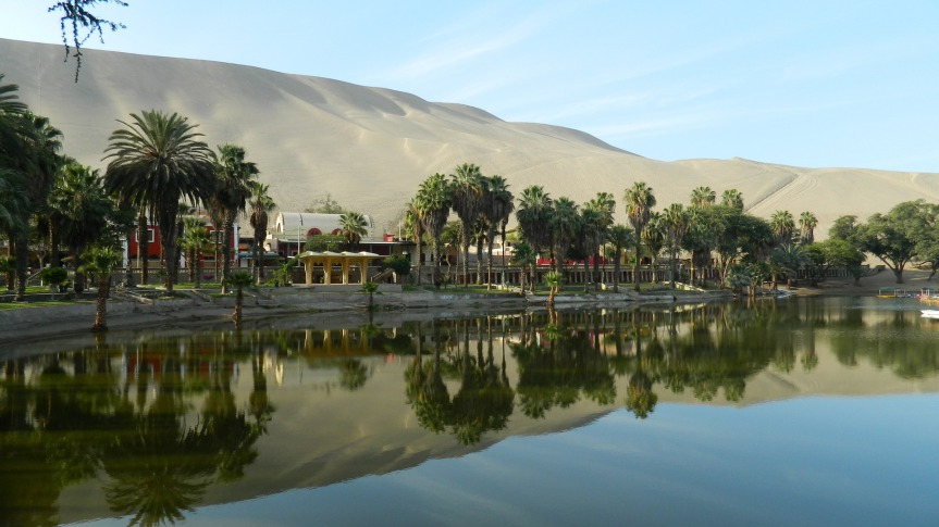 Oasis de Huacachina, région d'Ica.