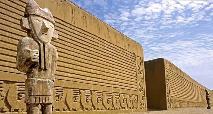 Site archéologique de Chan Chan, Culture Chimu, Trujillo.