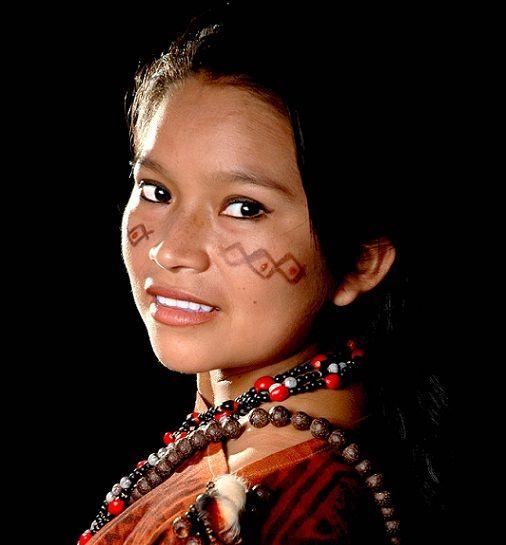 Belle femme péruvienne