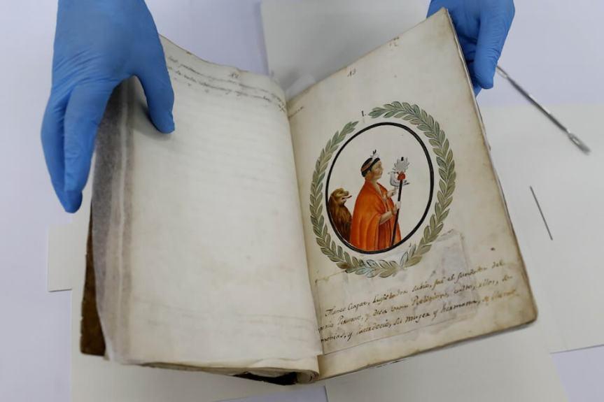 Histoire des Incas : Un manuscrit inestimable de 1830 rendu auPérou