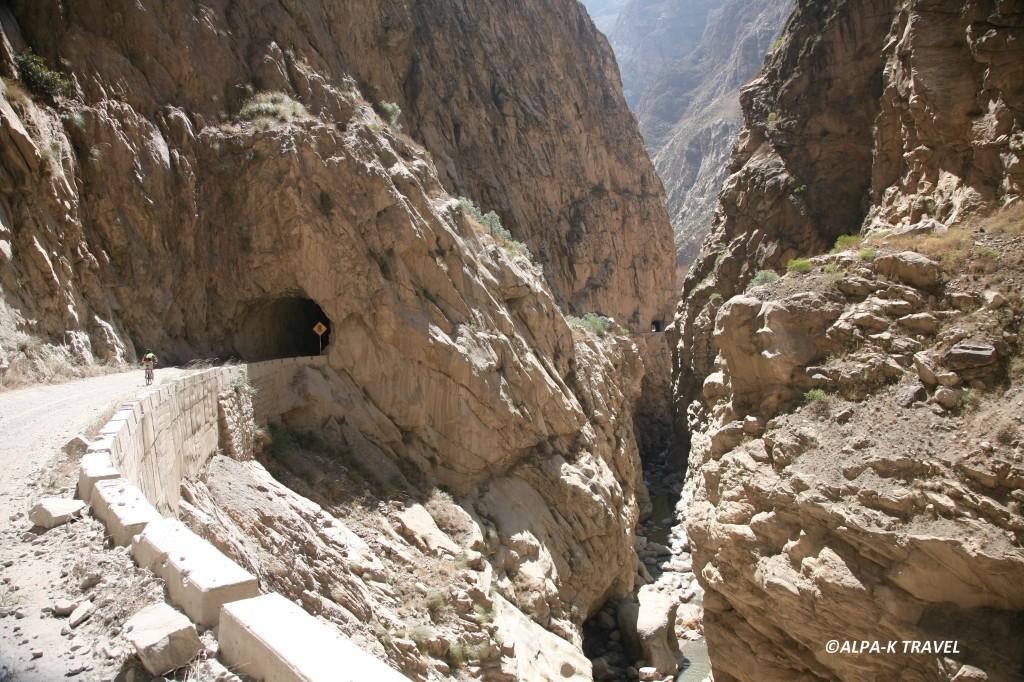 Treks et randonnées au Pérou. Canyon del Pato. Trek au Pérou