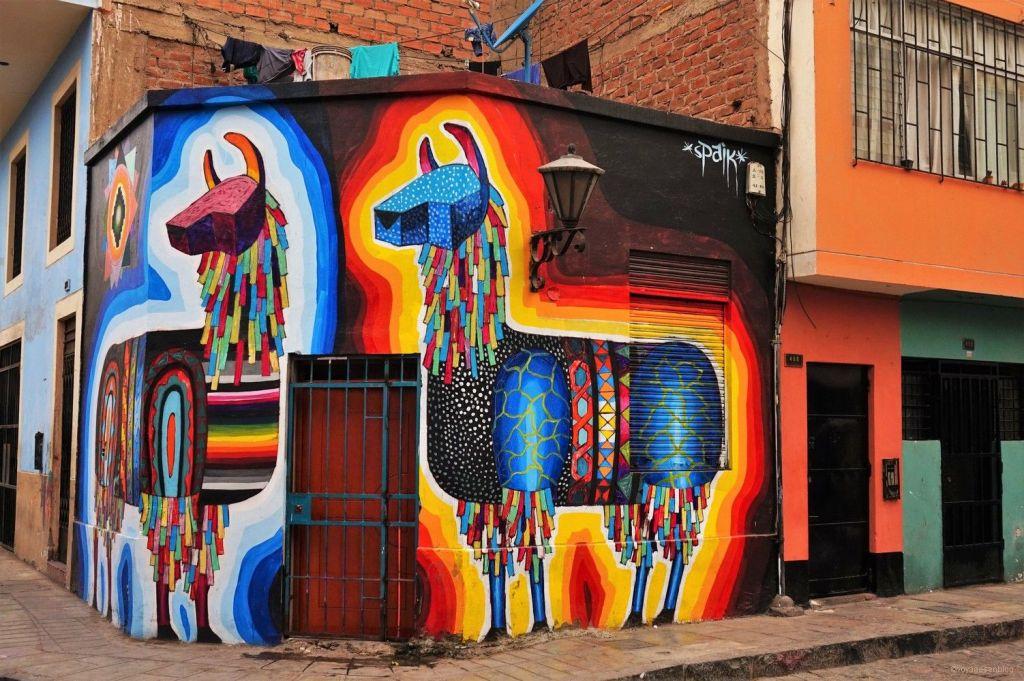 Street Art à Lima.